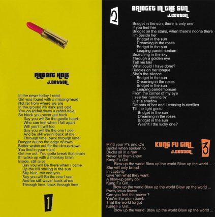 Movie Disaster Music by Josie Cotton