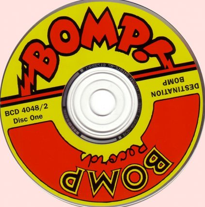 1994 Destination BOMP! Compilation featuring Josie Cotton, The Zeros, The Weirdos, The Romantics, The Pandoras, Distorted Pony, The Dwarves, The Lazy Cowgirls and many more
