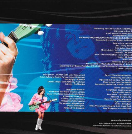 Invasion Of The B Girls by Josie Cotton