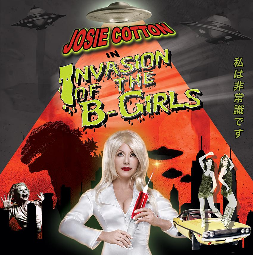 Invasion of the B-Girls (remastered) by Josie Cotton, Kitten Robot Records