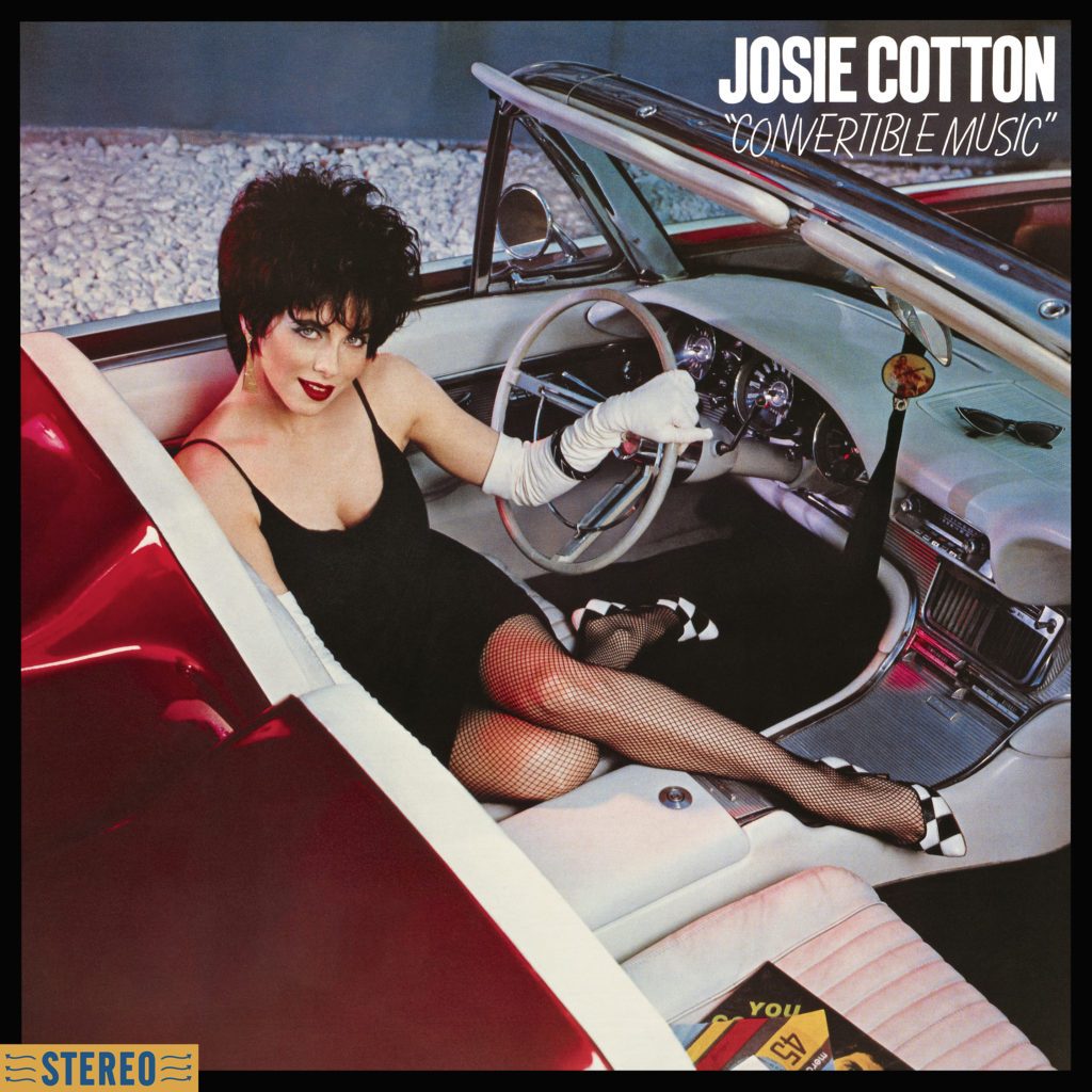 Josie Cotton Convertible Music on Kitten Robot Records, 2020