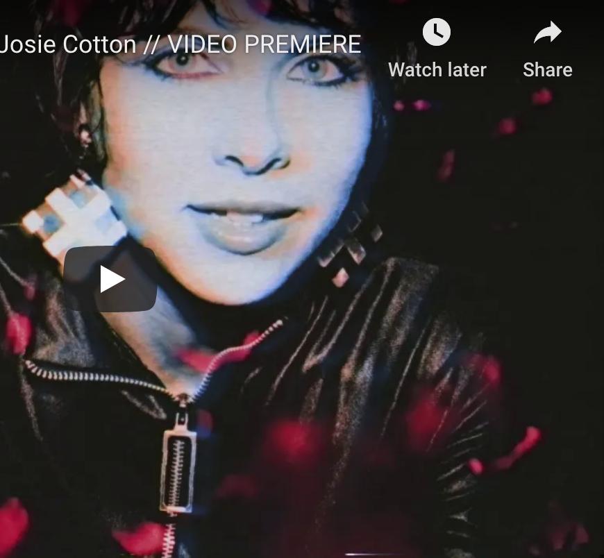 Josie Cotton Video Premiere for (Let's Do) The Blackout